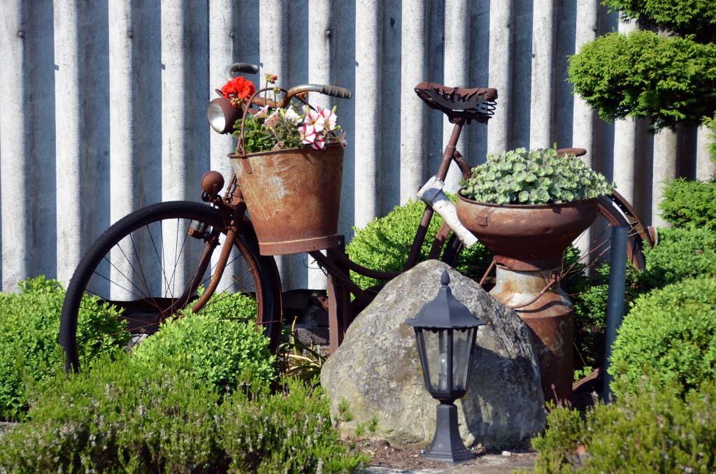 Fahrrad Dekoration